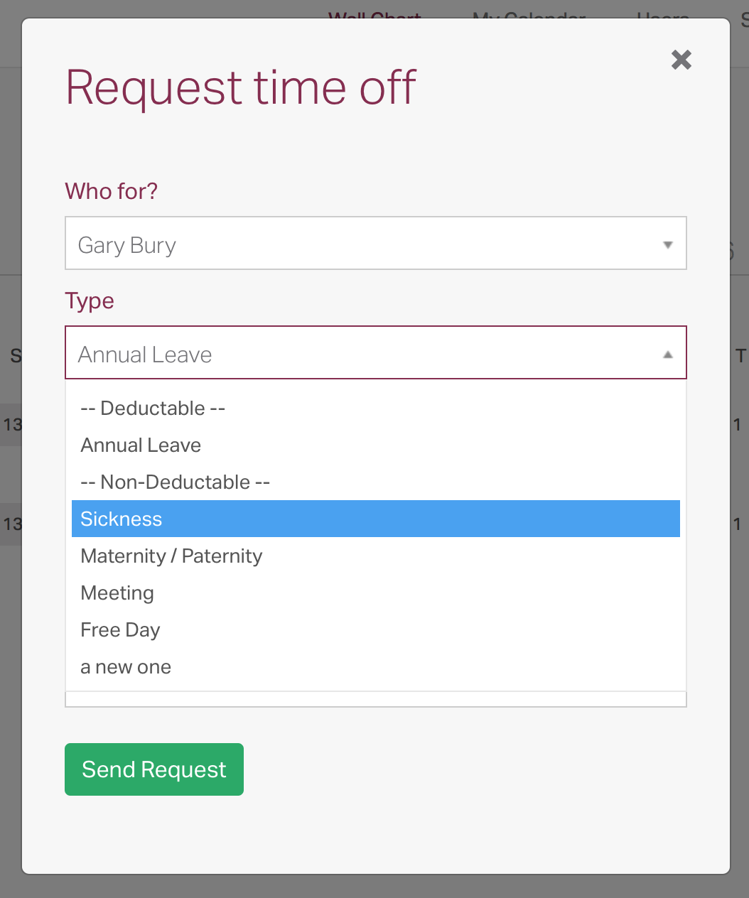 Sick Leave - Recording and Reporting – TIMETASTIC